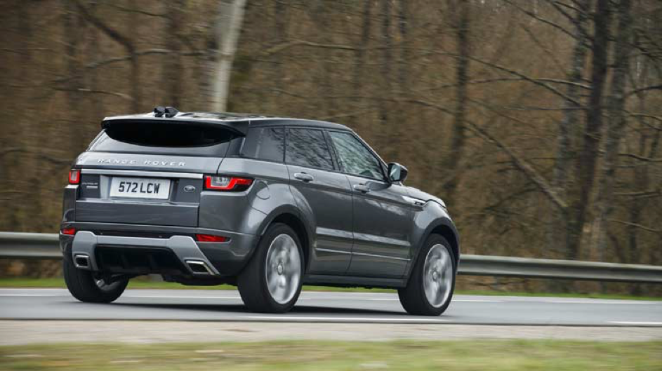 De Range Rover Evoque drijft 'eco-chic' ten top